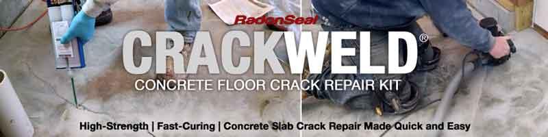 Crackweld Concrete Floor Repair Kits For Slabs And Driveways