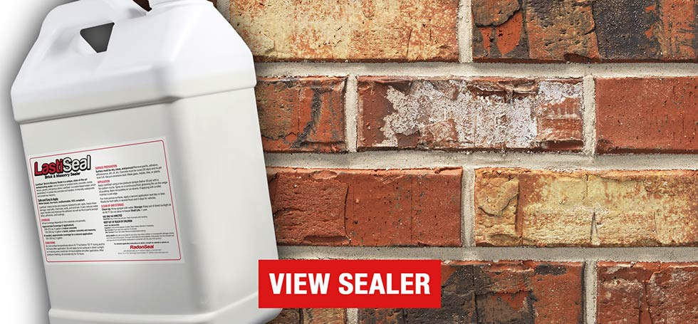 LastiSeal Brick Sealer and Concrete Sealer