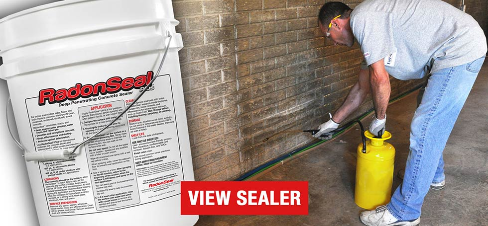 radonseal deep penetrating concrete sealer